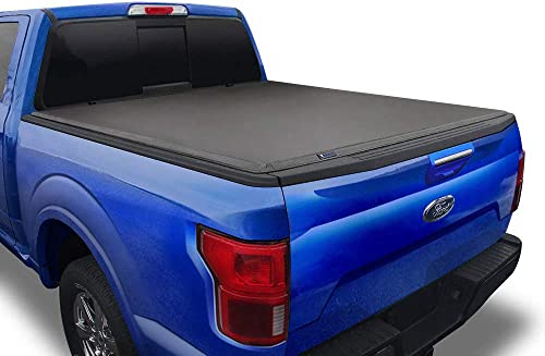 "Tyger Auto T3 Soft Tri-Fold Truck Bed Tonneau Cover Compatible with 2015-2021 Ford F-150 | Styleside 5.5' Bed (66"") 