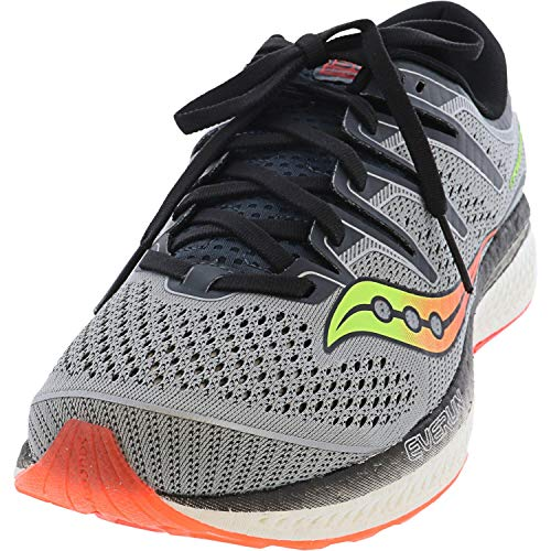 Saucony Men's Triumph ISO 5 Grey/Black 11 D US