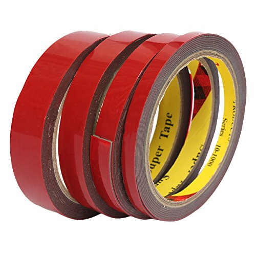 Exterior Accessories - Double Sided Tape Heavy Duty Stick Carpet Strong - Strong Permanent 3meter Double Sided Super Sticky Tape Roll For Vehicle - Double Sided Tape Heavy Duty - 1PCs