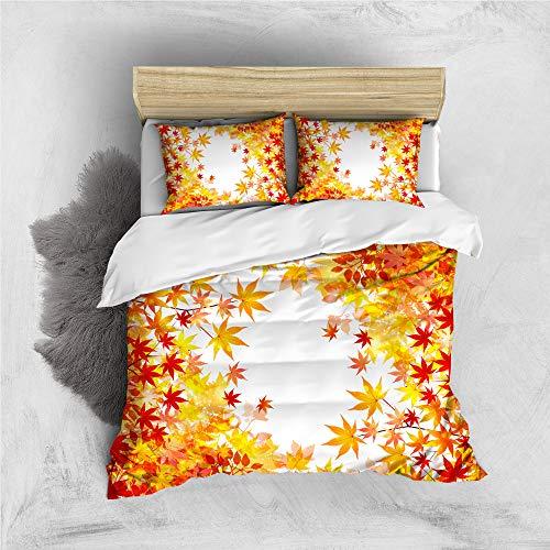 Poulbee Juego de ropa de cama para niños y niñas, 220 x 230 cm, funda nórdica y funda de almohada de 50 x 75 cm