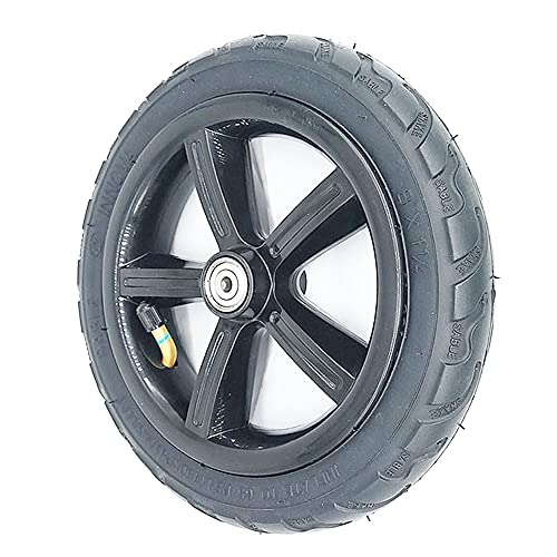 SUIBIAN Neumáticos de Scooter eléctrico, 8x1 1/4 200x45 Neumáticos Antideslizantes Resistentes al Desgaste, adecuados para Scooter de 8 Pulgadas/Carro de bebé,1 Pneumatic Wheel 6mm