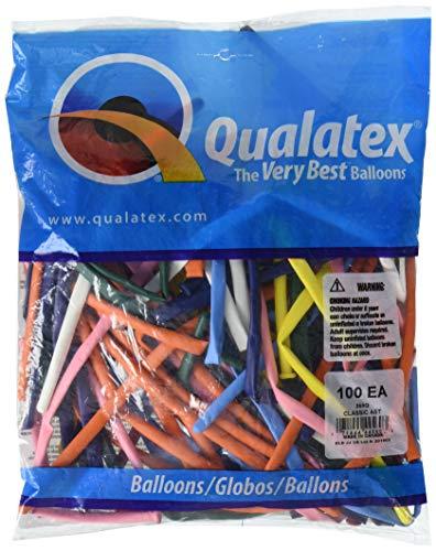 100 Qualatex 260Q modélisation Ballons Onyx Noir