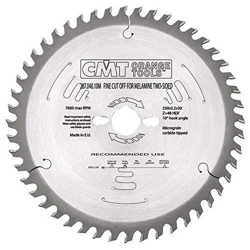 CMT Orange Tools 287,043,09 m scie circulaire 220 3,2 d x 30 x 42° z hdf-6 Nég.