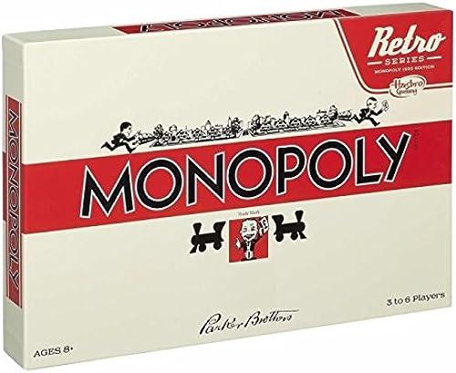 Monopoly Retro Serie Nach der Editon von 1935 Brettspiel W ung  Reichsmark