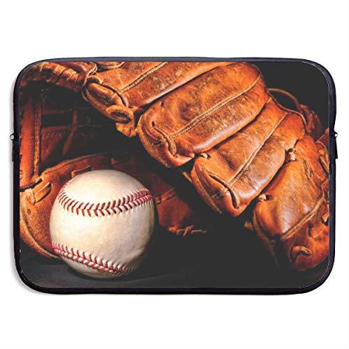 Baseball Black Ball Laptop Sleeve- Stylish Cute Notebook Handbag Laptop Sleeve