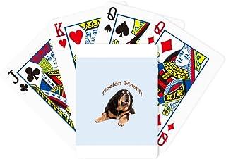 Tibetan Mastiff Pet Frontier China Poker Playing Magic Card Fun Board Game