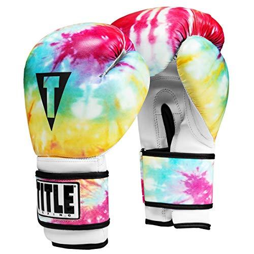 Title Boxing Tie-Dye Bag Gloves, Tie-Dye, Medium