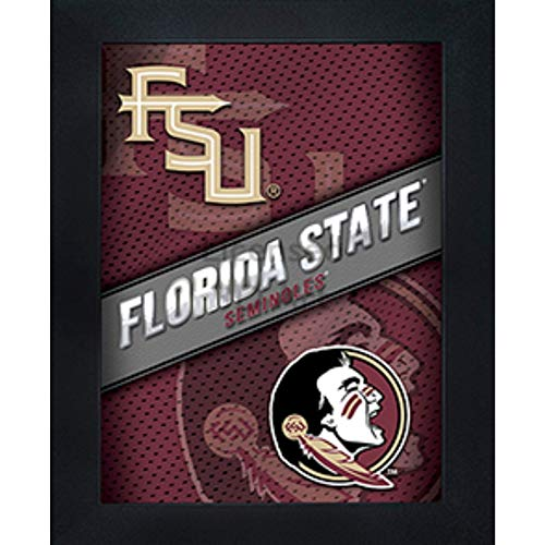 Florida State Seminoles 3D Poster Wall Art Decor Framed Print | 14.5x18.5 | FSU Lenticular Posters & Pictures | Gifts for Guys & Girls College Dorm Room | NCAA Sports Team Fan Logo & Mascot Picture
