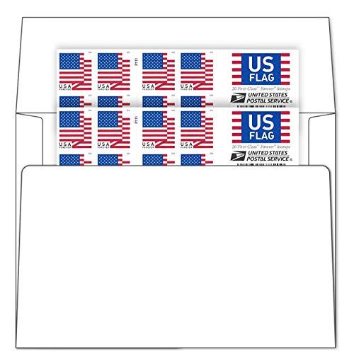 Stamp Online Business Envelope Additional 2018 Version Postage Stamps (2 Sheet - 40 Stamps)