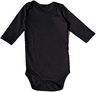 7887905592 HIBSHABY Baby Bodysuit Long Sleeve -3 Pack Toddler Organic 100% Cotton  Bodysuits for Infant