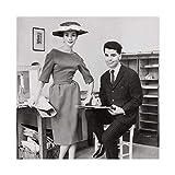 Fashion Guru Karl Lagerfeld 0 Poster, dekoratives Gemälde,