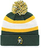 Green Bay Packers Green Cuff Breakaway Beanie Hat with Pom - NFL Cuffed Winter Knit Toque Cap