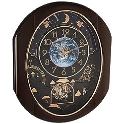 Rhythm Clocks Velvet Cosmos Magic Motion Clock