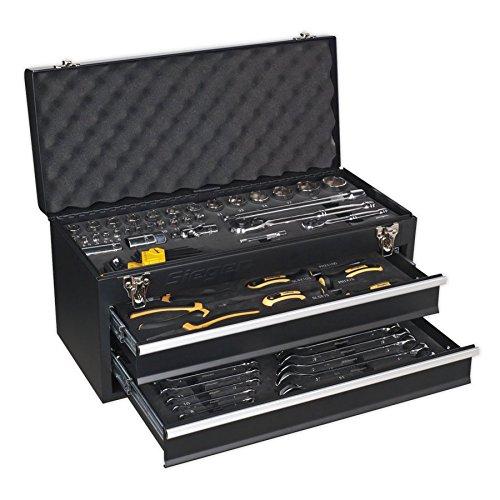 Sealey S01055 portátil 2 cajones caja de herramientas con K