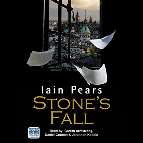 Stone's Fall audiobook cover art