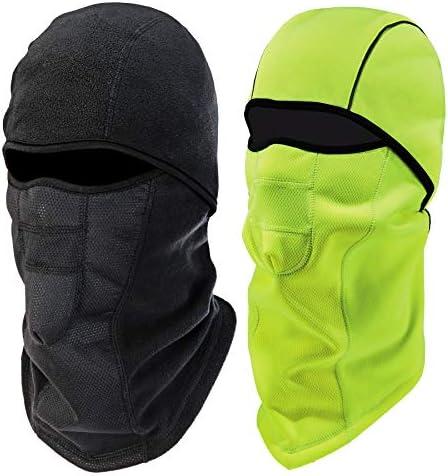 Ergodyne N Ferno 6823 Winter Ski Mask Balaclava Wind Resistant Face Mask Thermal Fleece 2 Pack product image