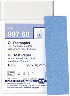 Macherey-Nagel, 90760, Oil Test Paper, Box Of 100 Strips