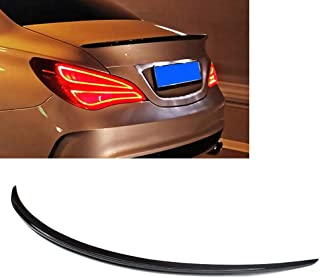 ITRADE Real Carbon Fiber Rear Tail Trunk Spoiler Wing for 2015-2019 Mercedes W205 C-Class Coupe