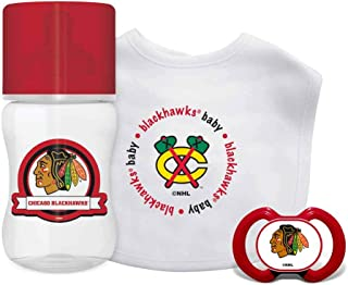 Baby Fanatic NHL Chicago Blackhawks Infant and Toddler Sports Fan Apparel