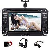 Caméra de recul comme gift.Eincar Double 2 Din 7 pouces GPS lecteur DVD de voiture Dash voiture VW...