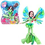 Winx Club Tecna | Onyrix Fairy Poupée World of Winx | Robe Magique | 28 cm