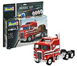 Revell Model Set- Maquette Model Set Camion Américain Kenworth Aérodyne, 67671