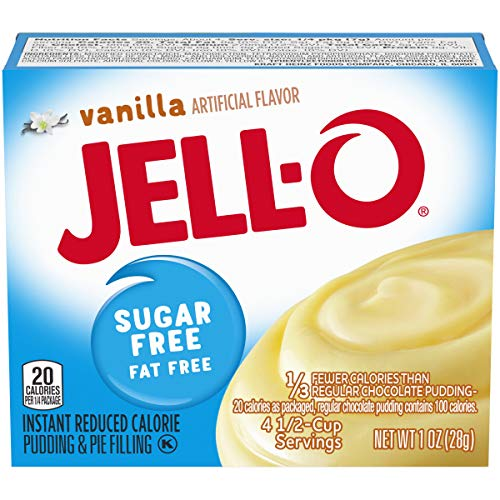 Jell-O Instant Vanilla Sugar-Free Fat Free Pudding & Pie Filling (1 oz Box)