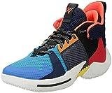 Jordan Why Not Zer0.2 GS Boys Shoes Size 7, Color: Multi-Color/Total Crimson/Sail