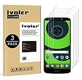 ivoler [Pack de 3] Verre Trempé pour Motorola Moto G6 Play/Motorola Moto E5, Film Protection en...