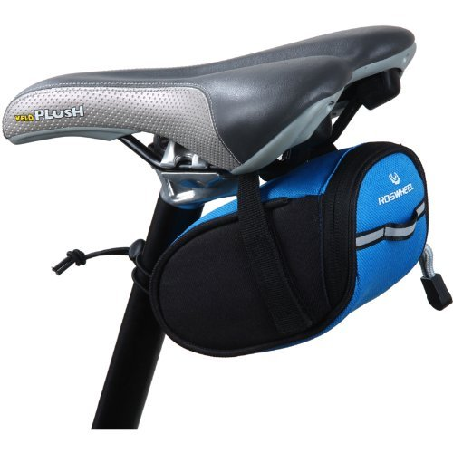 Roswheel Cycling Bicycle Bike Saddle Outdoor Pouch Back Seat Bag Blue