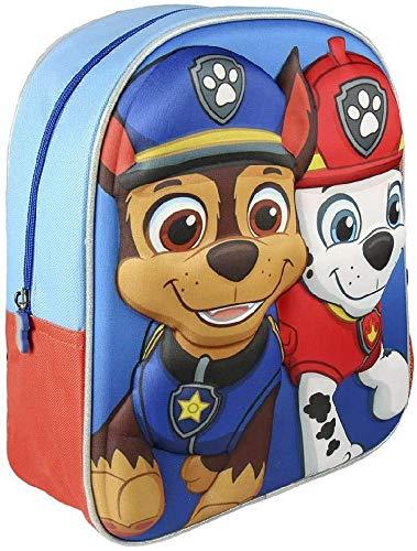 Paw Patrol La Patrulla Canina CD-21-2113 2018 Mochila Infantil, 40 cm, Multicolor