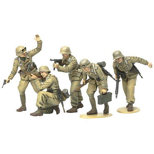 タミヤ 1/35 ミリタリーミニチュアシリーズ No.314 ドイツ陸軍 アフリカ軍団 歩兵セット プラモデル 35314