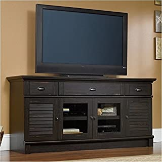 """BOWERY HILL 71"""" TV Stand in Antiqued Paint"""