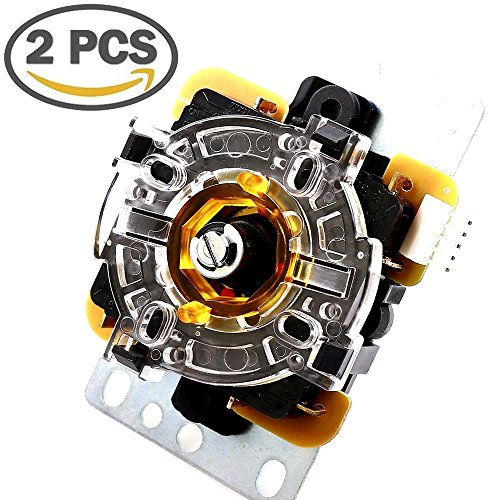 Hikig GT-Y Octagonal Restrictor Plate, 8 Way Octagonal Joystick Gate for SANWA JLF Series Joysticks - Perfect Restrictor for 8 Way Arcade Games 2 Piece