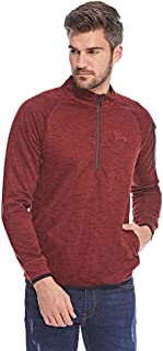 Tokyo Laundry Active Sweatshirt For Men - Oxblood, Size Large Red