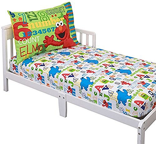 Sesame Street Elmo & Friends Toddler Sheet Set