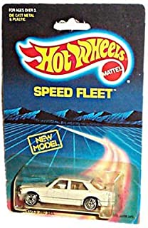 Hot Wheels - Speed Fleet - Mercedes 380 SEL - Off-White Body Color - UltraHot Wheels - Vintage 1988 Copyright/Issue