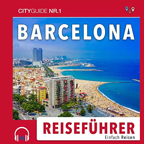 Page de couverture de Reiseführer Barcelona: Einfach Reisen 2019/20 [Guide to Barcelona: Easy Travel 2019/20]