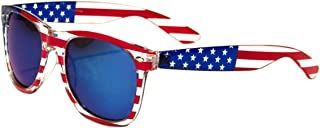 Classic American Patriot Flag Mirror Sunglasses USA