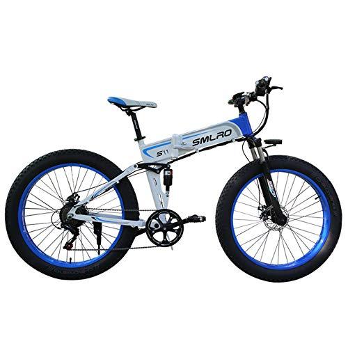 SAWOO Bicicleta Eléctrica 1000w Mountain Fat Tire 26