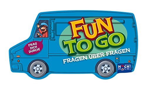 Huch & Friends 879516 - Fun to go, Fragen über Fragen, Kompaktspiel