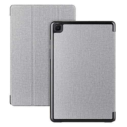 Cresee Galaxy Tab A7 2020 Hülle 10.4 Zoll, Flip Case Book Cover mit Magnetverschluss Ständer Tasche Folio Schutzhülle für Samsung Galaxy Tab A7 (SM-T500/SM-T505) Grau