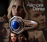 Gift Corner - Vampire Diaries The Originals Mikaelson Family - Anello in argento con lapislazzuli diurni misura 11 (20,68, o taglia V), autentico Prop Replica