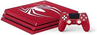 即決■PS4 限定本体 PlayStation4Pro スパイダーマン SSD(500GB)換装済 Marvel's Spider-Man Limited Edition ソフト無し マーベル