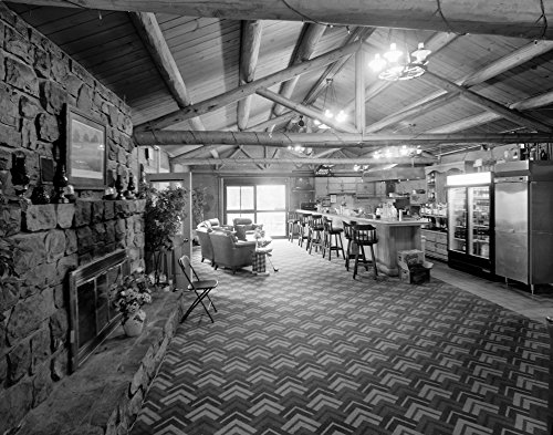Golf Clubhouse 2000 Nthe Lounge In The Golf Clubhouse And Equipment Building On The Plattsburgh Air Force Base In Plattsburgh New York Photograph By Clayton Fraser 2000 Poster Print by (18 x 24)