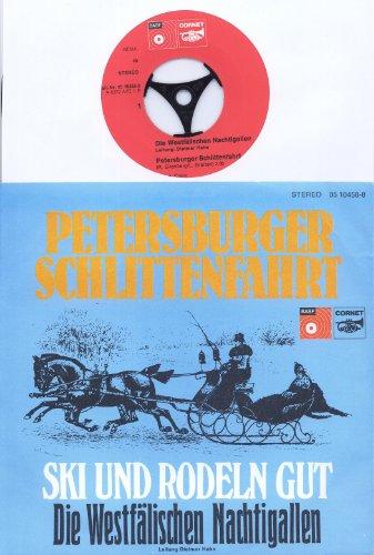 PETERSBURGER SCHLITTENFAHRT - SKI UND RODELN GUT - Die Westfälischen Nachtigallen Leitung Dietmar Hahn Bildhülle BASF CORNET # 05 10458-8