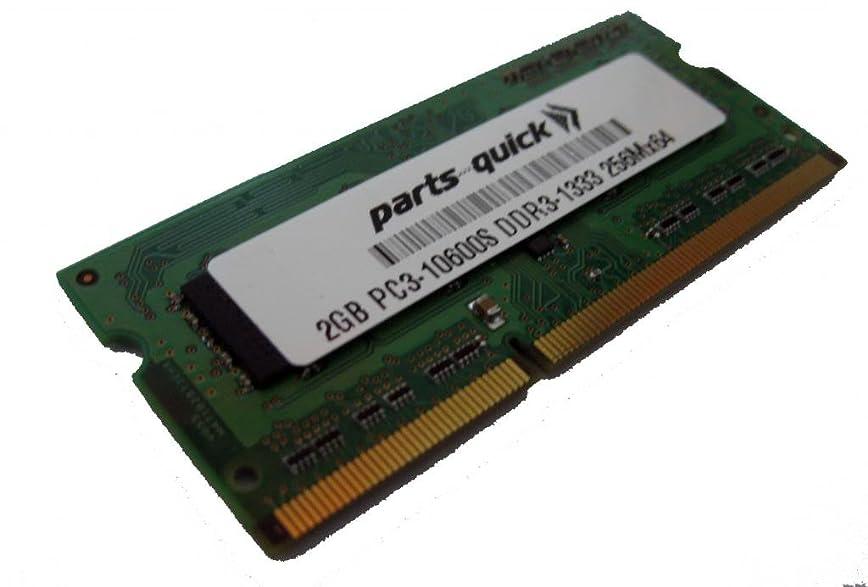 2GB Memory PC3-10600 DDR3-1333MHz SODIMM For Toshiba Satellite Pro C850-116