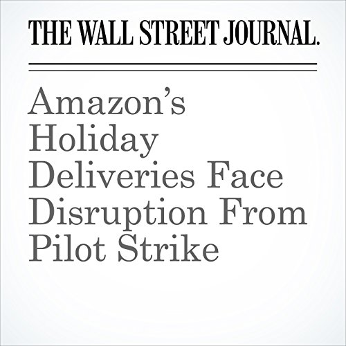 Amazon's Holiday Deliveries Face Disruption From Pilot Strike cover art