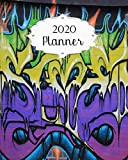 2020 Planner: Graffiti Daily, Weekly & Monthly Calendars | January through December | #8