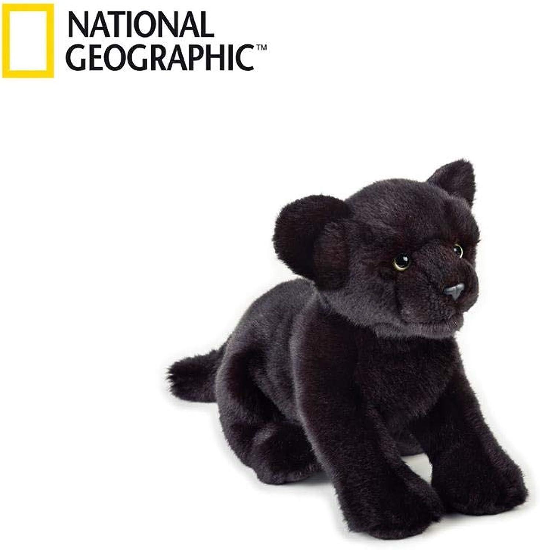 National Geographic Panther Plush  Medium Size